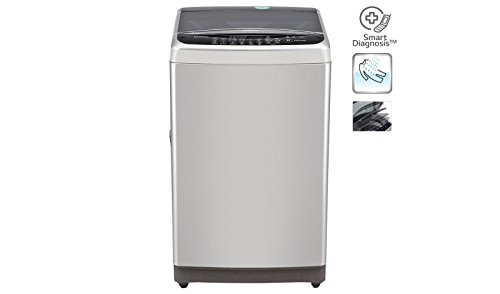 LG T7577TEEL1 Fully-automatic Top-loading Washing Machine (6.5 Kg, Free Silver...