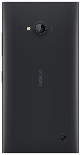 Nokia CC-3086 Wireless Qi Charging Clip-On Hard Shell Hülle Case Cover mit Ladefunktion für Nokia Lumia 735 - Dunkelgrau