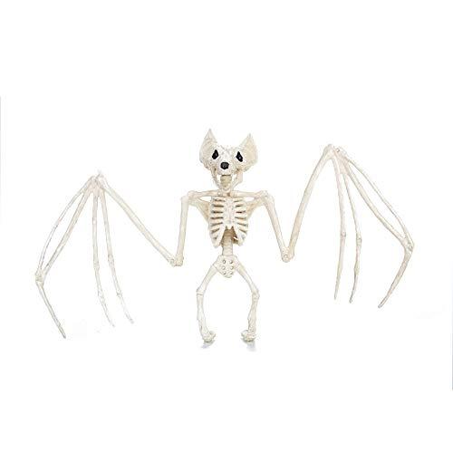 Bolange Fledermaus Skelett Halloween Party gruselige Fledermaus Skelett Kunststoff Familie Party Halloween Dekoration