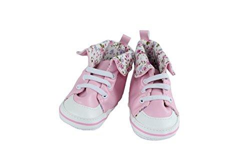 Apunis Mädchen 43457 Sneaker, Pink Rosa, 18 EU