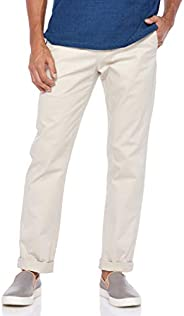 Giordano Men's 01118015 Slim Tapered Kh