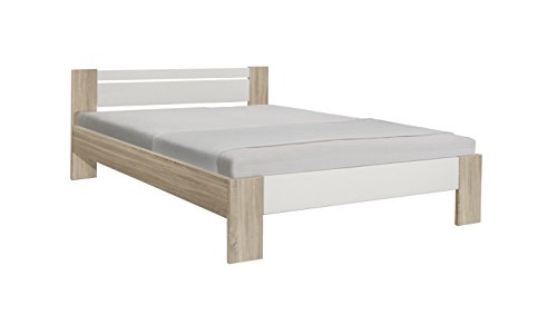 Avanti Trendstore – bedframe, slatted bed frame and mattress NOT included, bedframe in different colours, ca. 145 x 68 x 204 cm