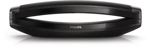 Philips M8881B/38 Schnurloses Telefon mit Anrufbeantworter (Freisprecheinrichtung, Eco+), schwarz
