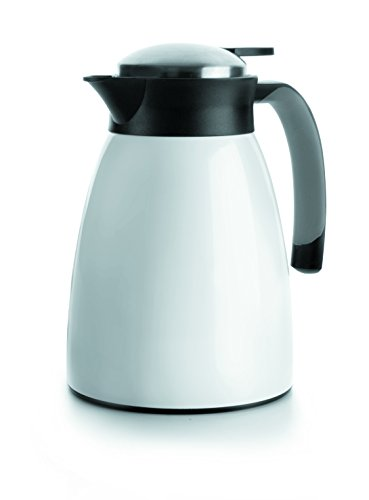 Lacor 62483 Verseuse Isotherme Inox Blanc 1 L
