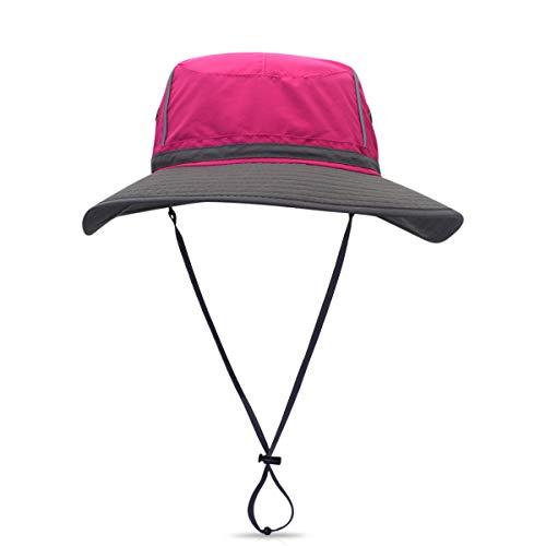 DORRISO Sonnenhut Herren Damen UV Schutz Hut Faltbar Wanderhut Gartenhut Fischerhut Wasser