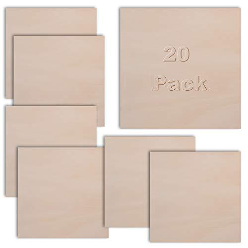 Madera contrachapada abedul paquete 20 -30 x 30 cm