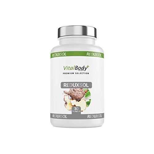 Apotheken-Produkt: REDUXSOL | Stoffwechsel Tabletten | 120 Diät Kapseln - echte 2800 mg | Glucomannan. Trägt im Rahmen einer kalorienarmen Ernährung zu Gewichtsverlust bei.