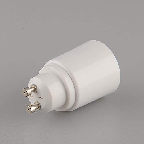 Support-200 Caps (Aistuo Gu10 to E27 Bulb Socket Base Adapter Converter Edison Screw, Maximum Wattage 500w, 200℃ Heat Resistant, No Fire Hazard (2 Pack))
