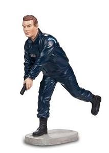 Katerina Prestige-Figura Policía Corriente una Arma AU Nudillos, pol001