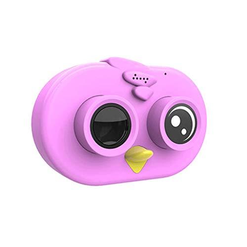 El Juguete de la cámara Digital para niños Puede Tomar Fotos Video bebé fotografía Mini HD Regalo de cumpleaños para niños en Vacaciones (Color : A, Size : 5.6 * 8.2cm)