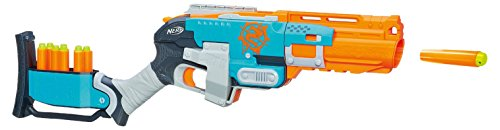 Hasbro A6557E24 - Pistola giocattolo Nerf N-Strike Elite Sledgefire