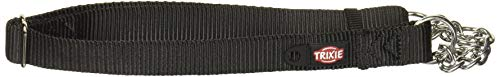 Trixie 202901 Premium Zug-Stopp-Halsband, L-XL: 45-70 cm/25 mm, schwarz