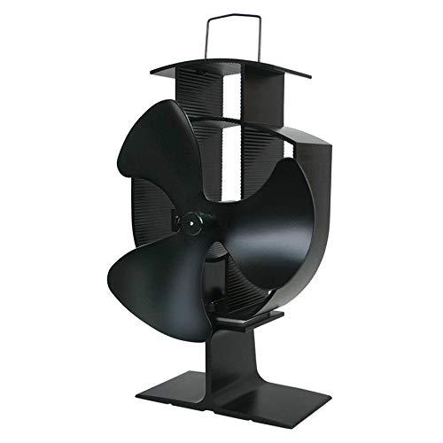 KNOSSOS Ventilador de Estufa accionado por Calor de 3 Cuchillas Ventilador de...