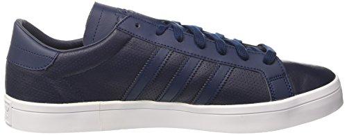 adidas Court Vantage, Baskets Basses Mixte Adulte Bleu (Collegiate Navy/Collegiate Navy/Collegiate Navy)