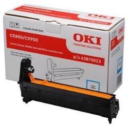 OKI 43870023 C5850, C5950 Trommel 20.000 Seiten, cyan