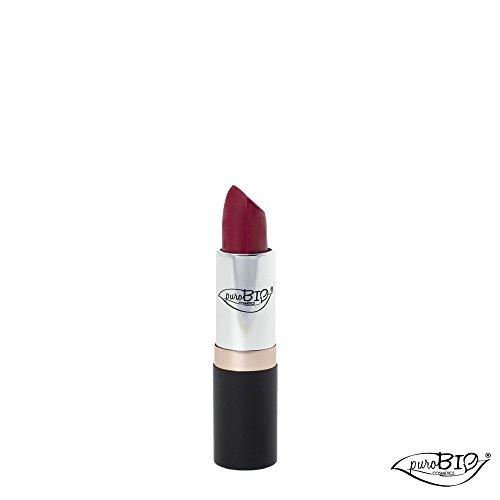 PUROBIO - Rouge à Lèvres Bio n. 11 Framboise - Hydratant, Texture douce, Couleur riche, Fini transparent - Testé au nickel, Produit biologique, Végétalien - 3.5 gr