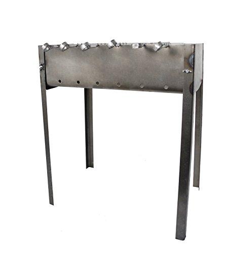 31fLLbIU UL - Grill zerlegbar–Typ Mangal Russische oder Kaukasus–Montage und Demontage sehr einfache–mittelgroß–50x 33x 60cm