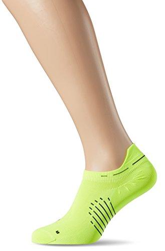 Nike U Nk Elt Ltwt Ns Calcetines, Hombre, Verde (Volt / Black / Black)