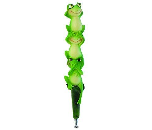 weglow-international-three-wise-frogs-planet-pen-by-weglow-international