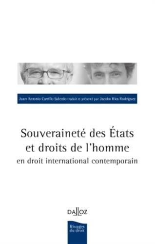Souveraineté des États et droits de l'homme en droit international - 1re édition