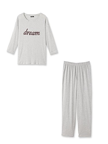 Balsamik - Pyjama rayé - femme Raye gris