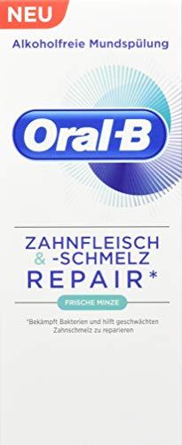 Oral-B Zahnfleisch & -schmelz Mundspülung Frische Minze, 250 ml - Oral-b-fluorid