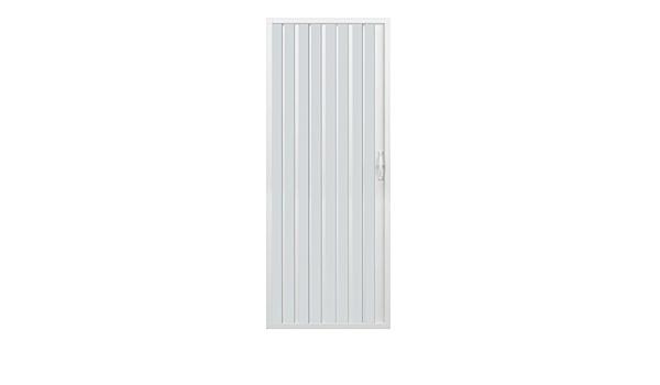 /Ø 185 cm blanc H 1 volet /à ouverture lat/érale vers un seul c/ôt/é Rollplast BVEN2LONCC28120 Porte de douche accord/éon, en PVC /120 x