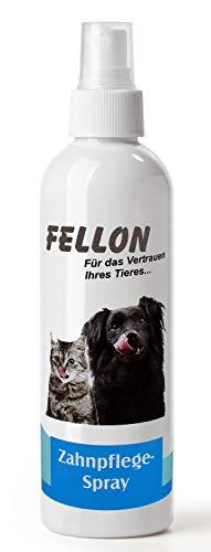 FellOn Zahnpflege für Hund & Katze 100 ml | Frischer Atem | Mundhygiene | Zahnfleischpflege | Anti Mundgeruch | Anti-Zahnbelag | Gegen Zahnstein, Karies & Zahnfleischentzündungen |Schutz vor Bakterien