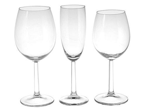 Royal Leerdam 610529 winebar Service 18 Verres en Verre