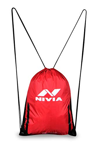 NIVIA String Bag (Crimson) Image 3