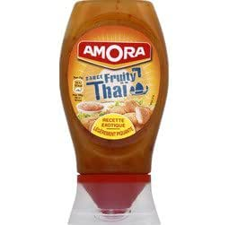 Amora - Sauce fruity thai - Le flacon de 274g