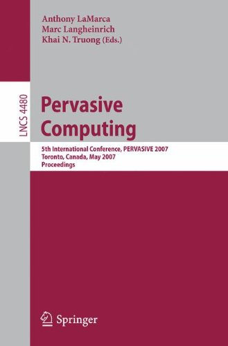 Pervasive Computing: 5th Interna...