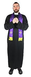 I Love Fancy Dress. ilfd4566X L Hombre Sacerdote Disfraces XL