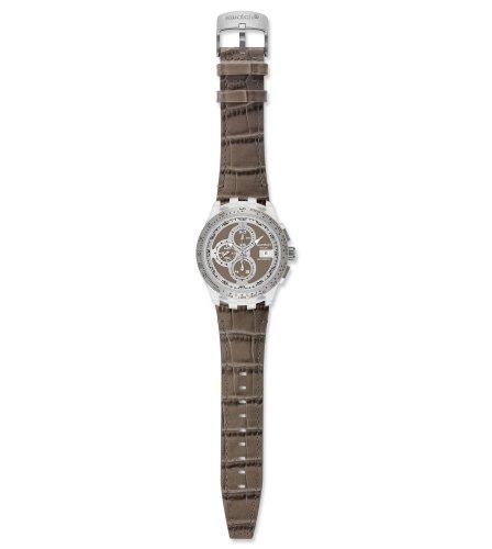 Swatch Herren-Armbanduhr Right Track Grey SVGK409 (Swatch Uhren Automatic Herren)