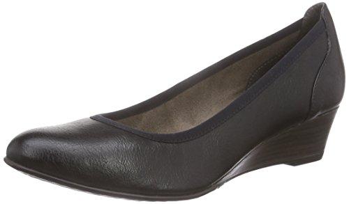 Tamaris22304 - Scarpe con Tacco Donna Nero (Nero (Black 001))
