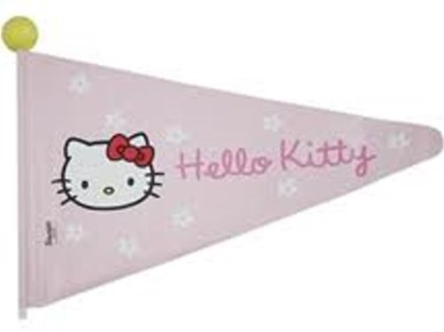 Fashion Bike Hello Kitty bandierine 175 cm rosa