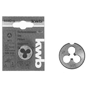 KWB Filière en acier rapide rond rectifiées, 4440–06
