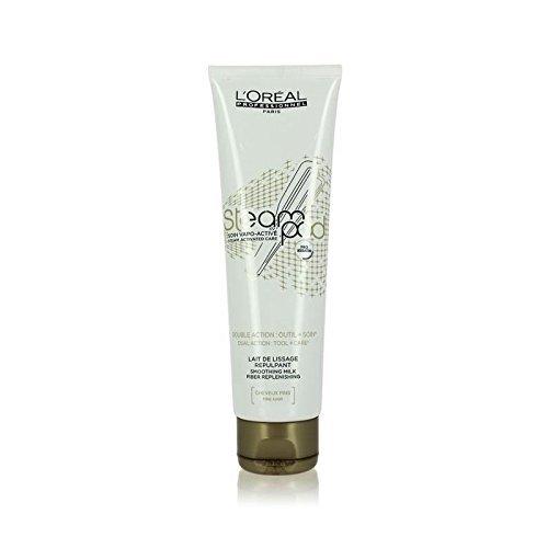 2-x-loreal-vapeur-pod-lissant-lait-blanc-pour-cheveux-fins-150-ml