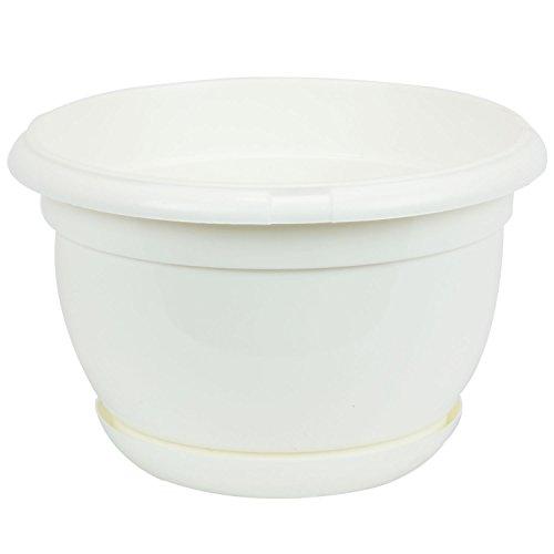 pot-de-fleur-plastique-malta-27-cm-blanc-avec-twist-soucoupe