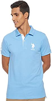 U.S. POLO ASSN. Men's Slim Fit Solid Polo S