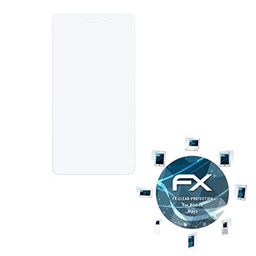 atFolix Schutzfolie kompatibel mit Bluboo Maya Folie, ultraklare FX Bildschirmschutzfolie (3X)