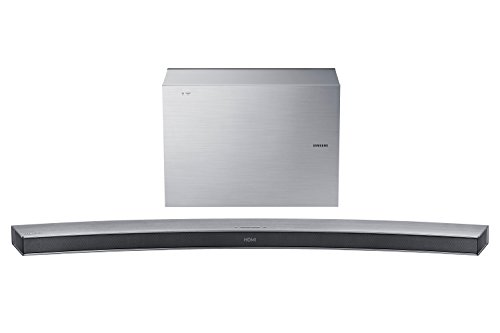 Samsung HW-J6000R/EN Curved 6.1 Soundbar (300 W, Subwoofer wireless, Bluetooth)