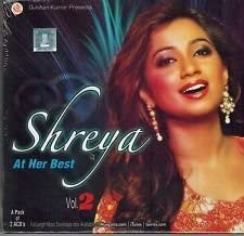 Shreya: At Her Best - Vol. 2 (Set of 2 ACD)