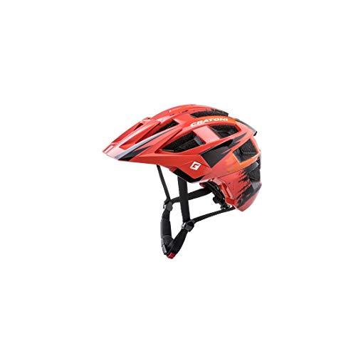 Cratoni Unisex- Erwachsene AllSet (MTB) Fahrradhelm, Rot, One Size