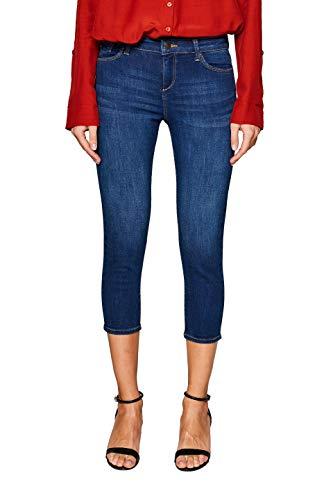 ESPRIT Damen 049EE1B013 Skinny Jeans, Blau (Blue Medium Wash 902), W29 (Herstellergröße: 29/22) -