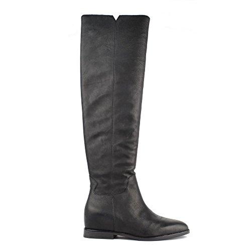 Ash Footwear Jess Black Leather Knee High Boot 38EU/5UK Black