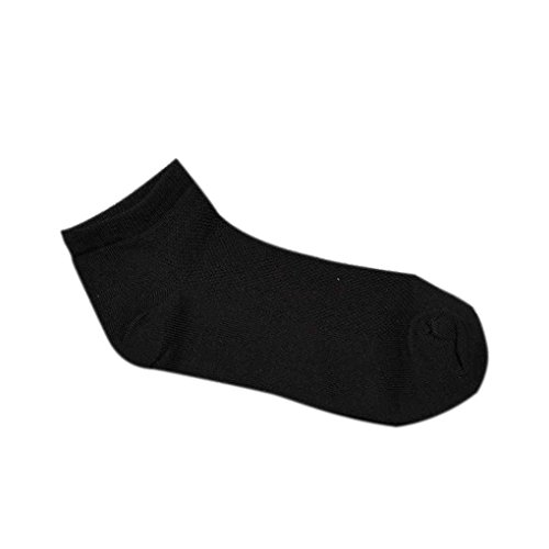 1 Paare Männer Casual Sport Boot Rutschfeste Invisible Low Cut No Show Socken Bobury (Graue Socken No-show)