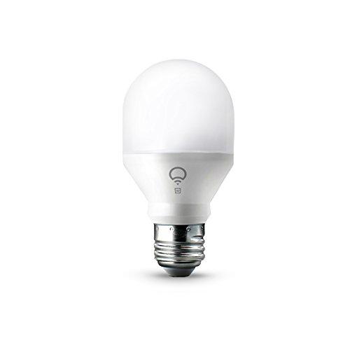 LIFX Mini White (E27) smarte WLAN LED-Birne, dimmbar, warmweiß, kein Hub notwendig, funktioniert mit Amazon Alexa, Apple HomeKit und Google Assistant