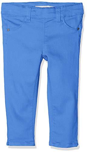 NAME IT Mädchen NMFPOLLY TWIBATINNA Capri Legging Hose, Blau Strong Blue, (Herstellergröße: 104)