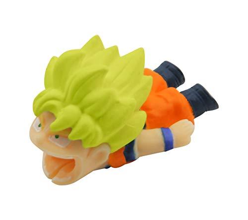 Character Cable Bite Cord Protector Accessory (Super Saiyan Goku) - Super Protector
